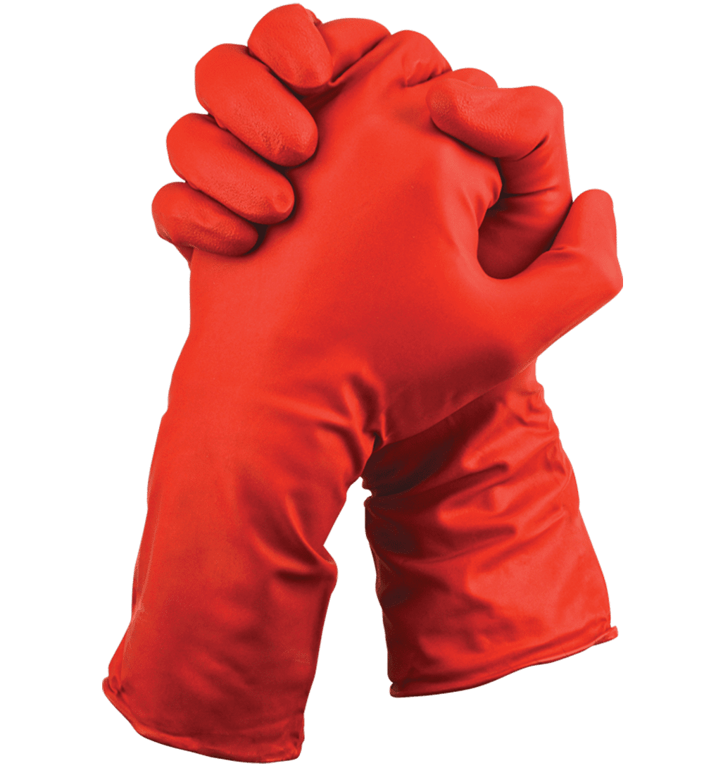 Chloronite Lightweight Chemical Resistant Gloves